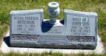 ENERSON, WILLIAM J. - Box Butte County, Nebraska | WILLIAM J. ENERSON - Nebraska Gravestone Photos