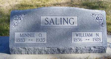 SALING, WILLIAM N. - Box Butte County, Nebraska | WILLIAM N. SALING - Nebraska Gravestone Photos