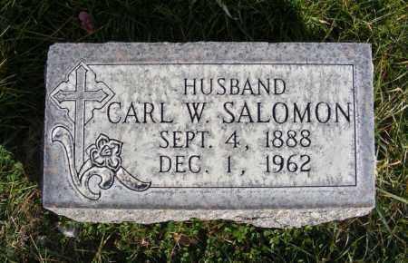 SALOMON, CARL W. - Box Butte County, Nebraska | CARL W. SALOMON - Nebraska Gravestone Photos
