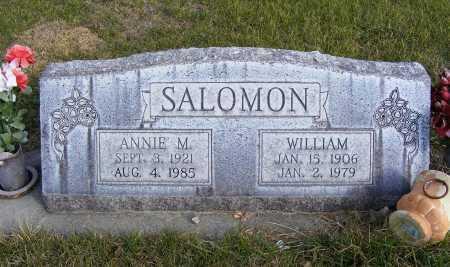 SALOMON, ANNIE M. - Box Butte County, Nebraska | ANNIE M. SALOMON - Nebraska Gravestone Photos