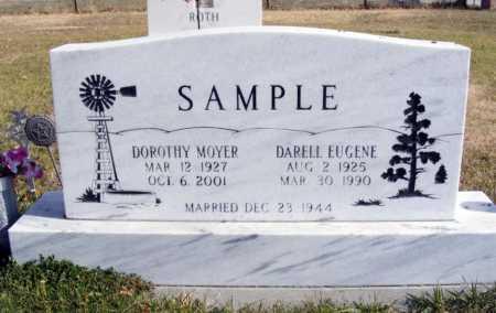 MOYER SAMPLE, DOROTHY - Box Butte County, Nebraska | DOROTHY MOYER SAMPLE - Nebraska Gravestone Photos