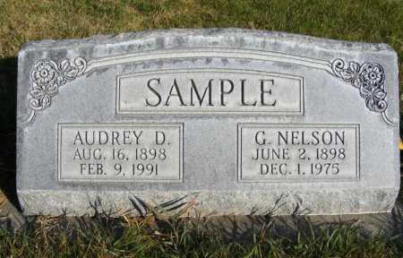 SAMPLE, G. NELSON - Box Butte County, Nebraska | G. NELSON SAMPLE - Nebraska Gravestone Photos