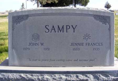 SAMPY, JOHN W. - Box Butte County, Nebraska | JOHN W. SAMPY - Nebraska Gravestone Photos