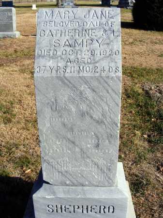 SHEPHERD, MARY JANE - Box Butte County, Nebraska | MARY JANE SHEPHERD - Nebraska Gravestone Photos