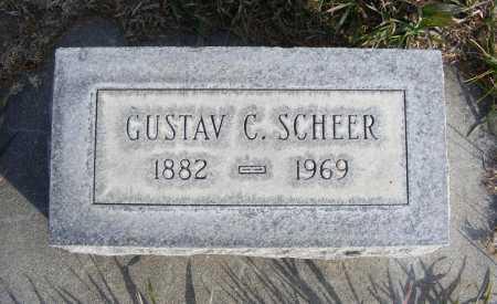 SCHEER, GUSTAV C. - Box Butte County, Nebraska | GUSTAV C. SCHEER - Nebraska Gravestone Photos