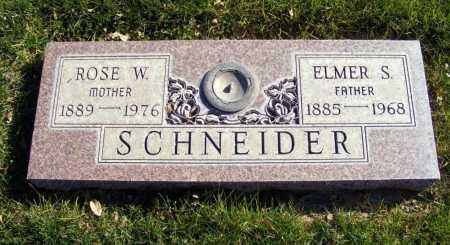 SCHNEIDER, ELMER S. - Box Butte County, Nebraska | ELMER S. SCHNEIDER - Nebraska Gravestone Photos