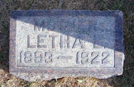 SCHNEIDER, LETHA L. - Box Butte County, Nebraska | LETHA L. SCHNEIDER - Nebraska Gravestone Photos