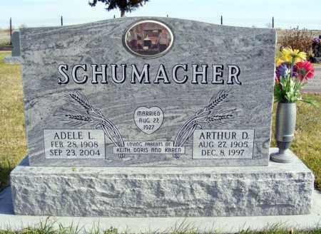 SCHUMACHER, ARTHUR D. - Box Butte County, Nebraska | ARTHUR D. SCHUMACHER - Nebraska Gravestone Photos