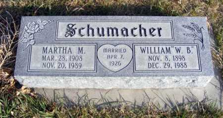 "SCHUMACHER, WILLIAM ""W.B."" - Box Butte County, Nebraska 