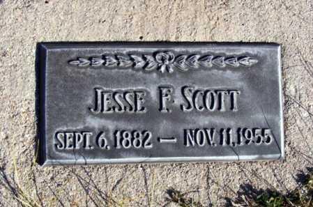 SCOTT, JESSE F. - Box Butte County, Nebraska | JESSE F. SCOTT - Nebraska Gravestone Photos