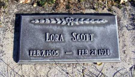 SCOTT, LORA - Box Butte County, Nebraska | LORA SCOTT - Nebraska Gravestone Photos