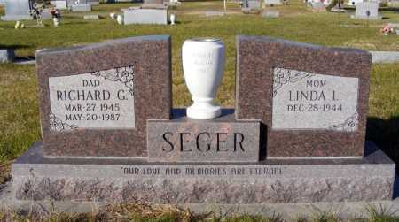 SEGER, RICHARD G. - Box Butte County, Nebraska | RICHARD G. SEGER - Nebraska Gravestone Photos