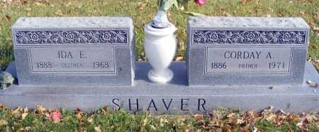 SHAVER, CORDAY A. - Box Butte County, Nebraska | CORDAY A. SHAVER - Nebraska Gravestone Photos