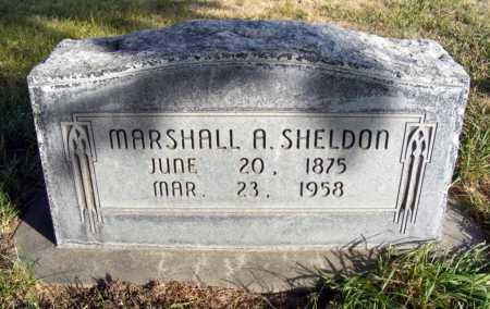 SHELDON, MARSHALL A. - Box Butte County, Nebraska   MARSHALL A. SHELDON - Nebraska Gravestone Photos