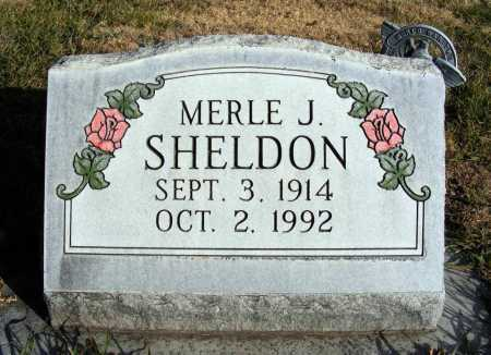 SHELDON, MERLE J. - Box Butte County, Nebraska | MERLE J. SHELDON - Nebraska Gravestone Photos