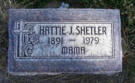 SHETLER, HATTIE J. - Box Butte County, Nebraska | HATTIE J. SHETLER - Nebraska Gravestone Photos