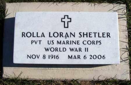 SHETLER, ROLLA LORAN - Box Butte County, Nebraska   ROLLA LORAN SHETLER - Nebraska Gravestone Photos