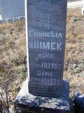 SHIMEK, EMMELIA - Box Butte County, Nebraska | EMMELIA SHIMEK - Nebraska Gravestone Photos