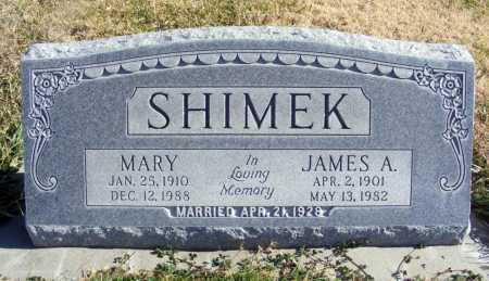 SHIMEK, JAMES A. - Box Butte County, Nebraska | JAMES A. SHIMEK - Nebraska Gravestone Photos