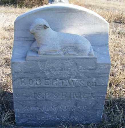 SHIMEK, ROBERT W. - Box Butte County, Nebraska | ROBERT W. SHIMEK - Nebraska Gravestone Photos