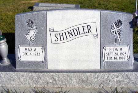 SHINDLER, ELDA M. - Box Butte County, Nebraska | ELDA M. SHINDLER - Nebraska Gravestone Photos