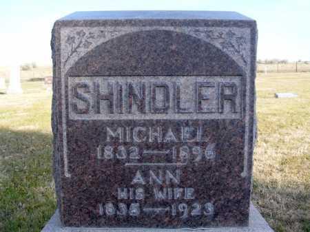 SHINDLER, ANN - Box Butte County, Nebraska | ANN SHINDLER - Nebraska Gravestone Photos