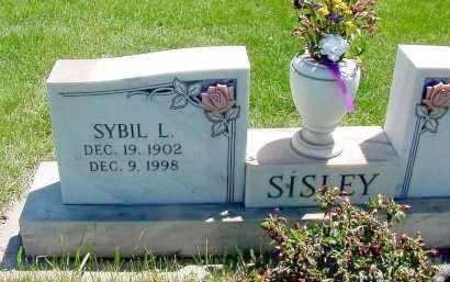 SISLEY, SYBIL L. - Box Butte County, Nebraska | SYBIL L. SISLEY - Nebraska Gravestone Photos