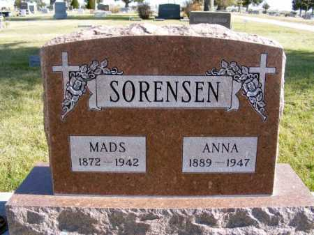 SORENSEN, MADS - Box Butte County, Nebraska | MADS SORENSEN - Nebraska Gravestone Photos