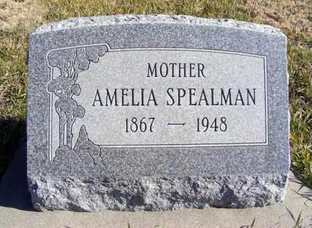 SPEALMAN, AMELIA - Box Butte County, Nebraska | AMELIA SPEALMAN - Nebraska Gravestone Photos