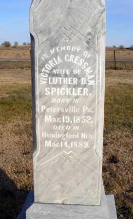 SPICKLER, VICTORIA - Box Butte County, Nebraska | VICTORIA SPICKLER - Nebraska Gravestone Photos