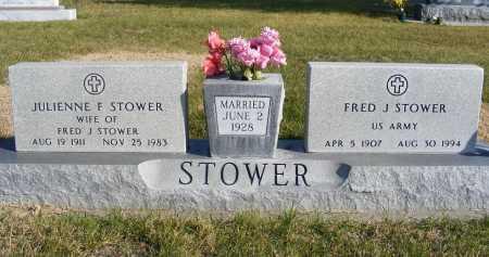 STOWER, FRED J. - Box Butte County, Nebraska | FRED J. STOWER - Nebraska Gravestone Photos
