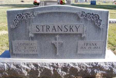 STRANSKY, SOPHIA - Box Butte County, Nebraska | SOPHIA STRANSKY - Nebraska Gravestone Photos
