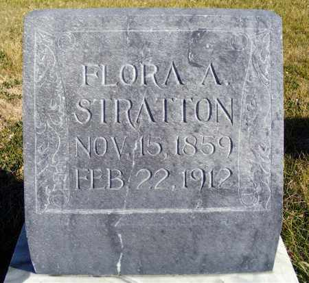 STRATTON, FLORA A. - Box Butte County, Nebraska | FLORA A. STRATTON - Nebraska Gravestone Photos