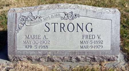 STRONG, FRED V. - Box Butte County, Nebraska | FRED V. STRONG - Nebraska Gravestone Photos