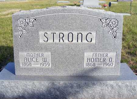 STRONG, ALICE W. - Box Butte County, Nebraska   ALICE W. STRONG - Nebraska Gravestone Photos