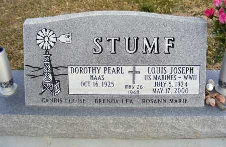 STUMF, LOUIS JOSEPH - Box Butte County, Nebraska | LOUIS JOSEPH STUMF - Nebraska Gravestone Photos