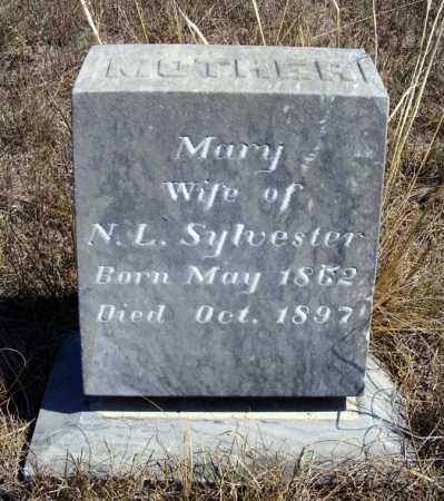 SYLVESTER, MARY - Box Butte County, Nebraska | MARY SYLVESTER - Nebraska Gravestone Photos