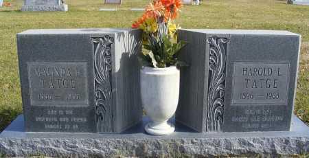 TATGE, MALINDA  L. - Box Butte County, Nebraska   MALINDA  L. TATGE - Nebraska Gravestone Photos