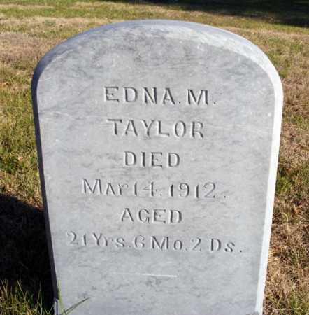 TAYLOR, EDNA M. - Box Butte County, Nebraska   EDNA M. TAYLOR - Nebraska Gravestone Photos