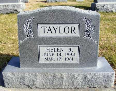 TAYLOR, HELEN R. - Box Butte County, Nebraska | HELEN R. TAYLOR - Nebraska Gravestone Photos
