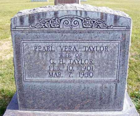 TAYLOR, PEARL VERA - Box Butte County, Nebraska | PEARL VERA TAYLOR - Nebraska Gravestone Photos