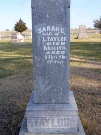 TAYLOR, SARAH C. - Box Butte County, Nebraska | SARAH C. TAYLOR - Nebraska Gravestone Photos