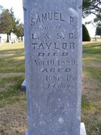 TAYLOR, SAMUEL P. - Box Butte County, Nebraska   SAMUEL P. TAYLOR - Nebraska Gravestone Photos