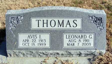 THOMAS, AVIS I. - Box Butte County, Nebraska | AVIS I. THOMAS - Nebraska Gravestone Photos