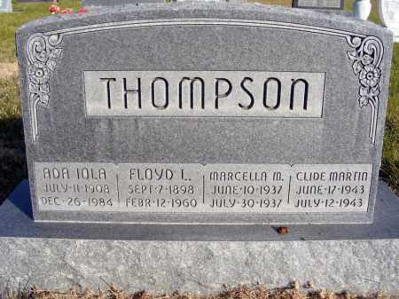 THOMPSON, CLIDE MARTIN - Box Butte County, Nebraska | CLIDE MARTIN THOMPSON - Nebraska Gravestone Photos