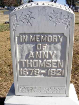 THOMSEN, ANNY - Box Butte County, Nebraska   ANNY THOMSEN - Nebraska Gravestone Photos