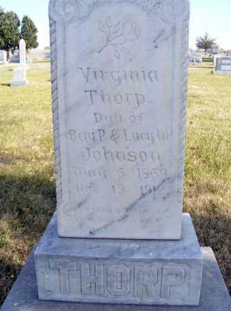 THORP, VIRGINIA - Box Butte County, Nebraska | VIRGINIA THORP - Nebraska Gravestone Photos