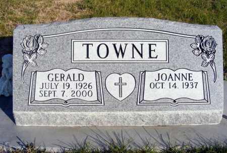 TOWNE, GERALD - Box Butte County, Nebraska | GERALD TOWNE - Nebraska Gravestone Photos