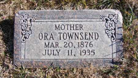 TOWNSEND, ORA - Box Butte County, Nebraska | ORA TOWNSEND - Nebraska Gravestone Photos