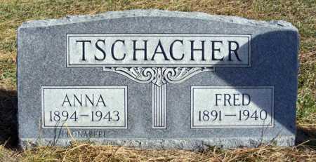 TSCHACHER, ANNA - Box Butte County, Nebraska | ANNA TSCHACHER - Nebraska Gravestone Photos